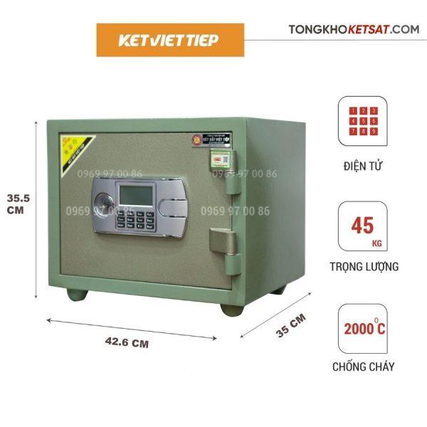 két sắt mini điện tử K68BLN-DT
