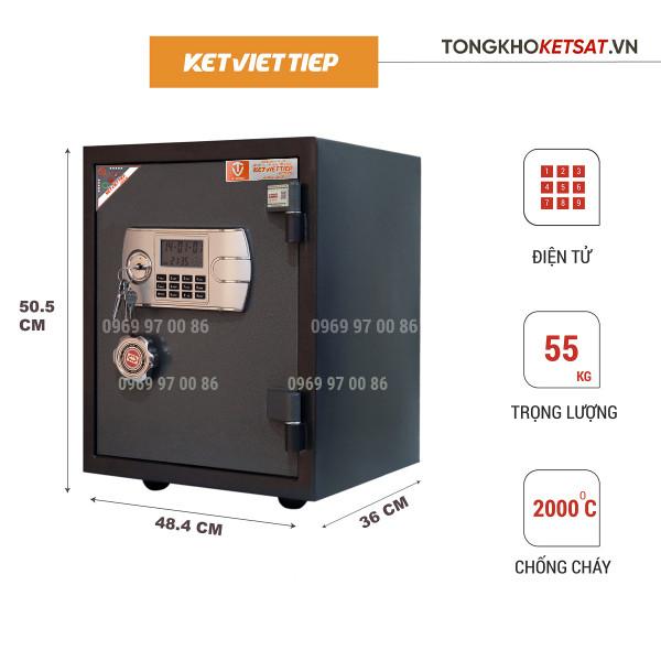 két sắt điện tử Việt Tiệp giá rẻ k88bln-kc