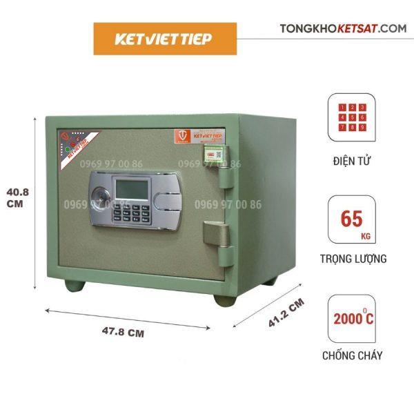 két sắt mini điện tử Việt Tiệp giá rẻ kcc65dt