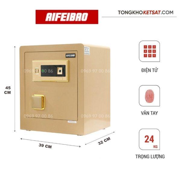 két sắt nhập khẩu aifeibao 45-bl