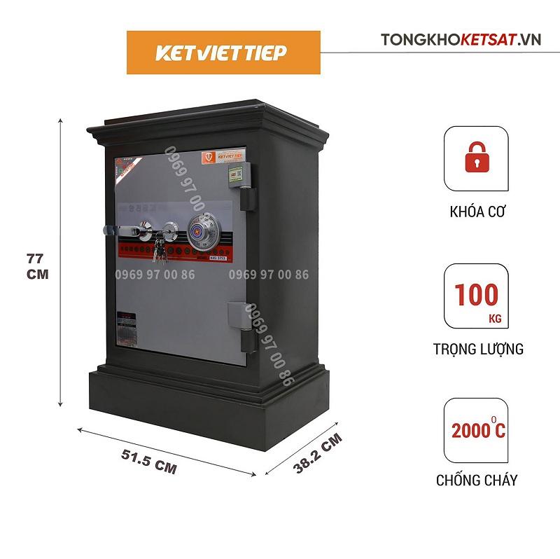 Két sắt khóa cơ Việt Tiệp giá rẻ chính hãng k504 kc