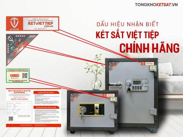 Bộ nhận diện thương hiệu của két sắt Việt Tiệp
