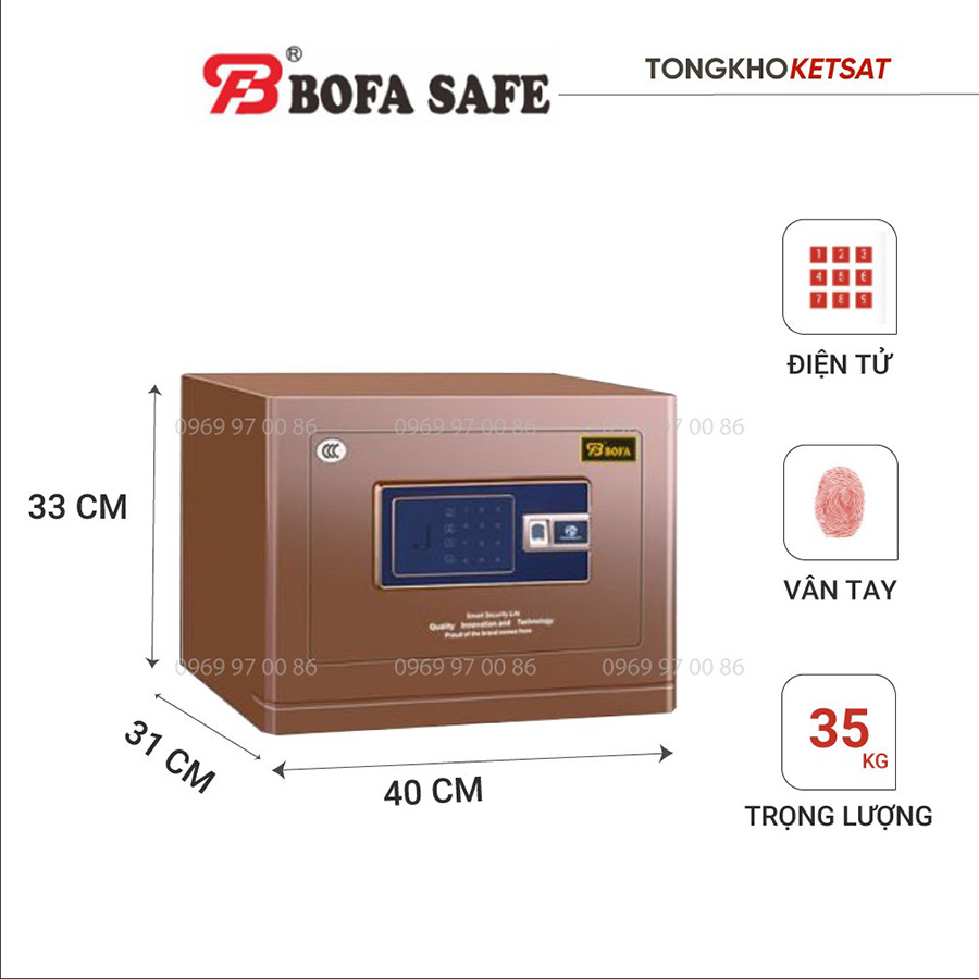Két sắt Bofa BF-V30BS2 nhập khẩu chính hãng