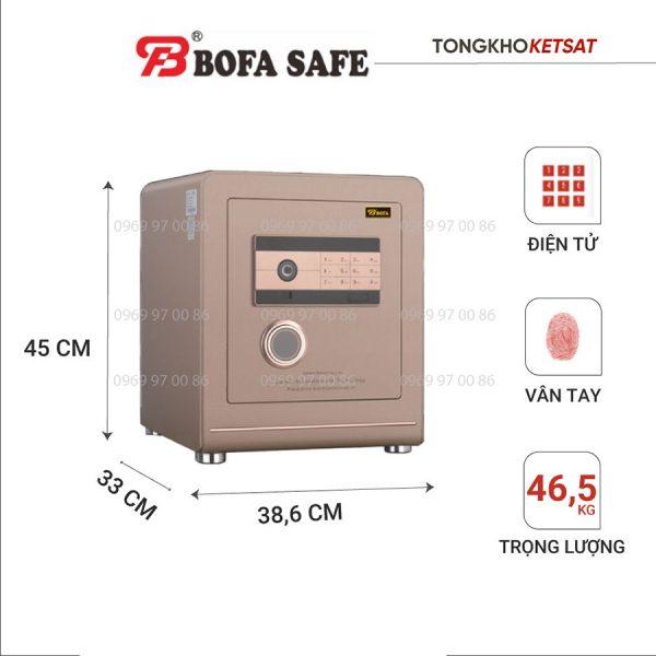 Két sắt Bofa BF-V45BJ nhập khẩu chính hãng