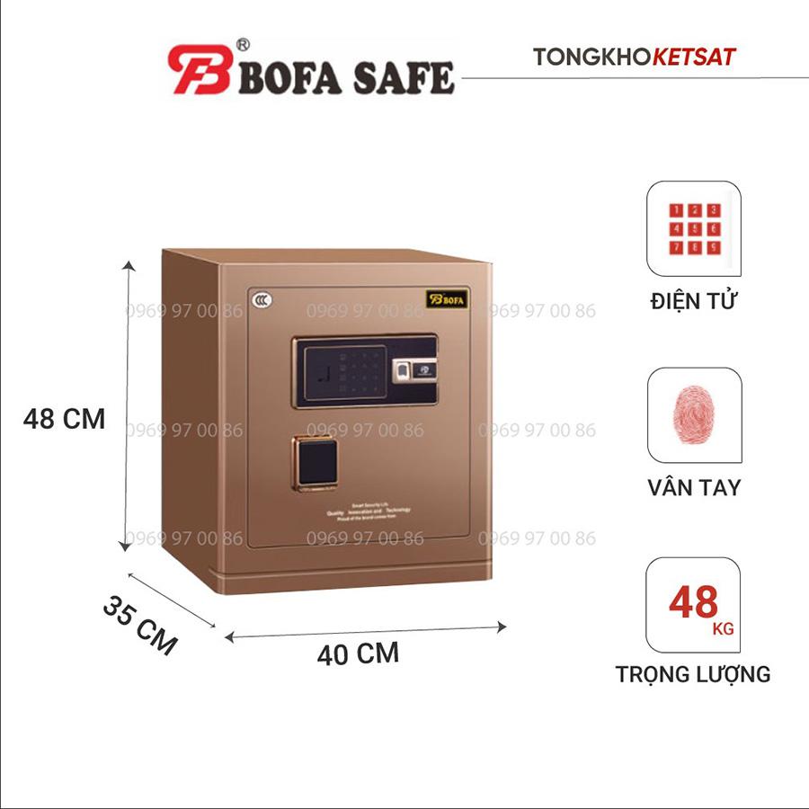 Két Sắt Bofa BF-V45BS2 nhập khẩu chính hãng