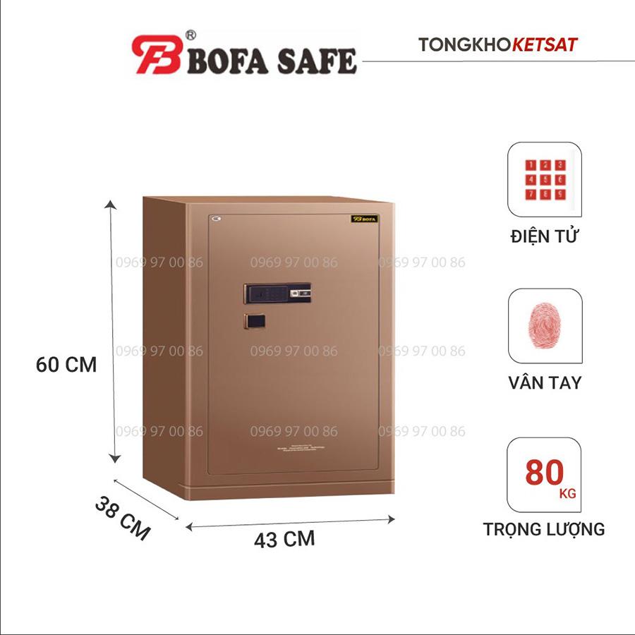 Két sắt Bofa BF-V60BS2 nhập khẩu chính hãng