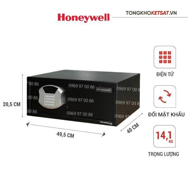 Két sắt Honeywell 5105 nhập khẩu Mỹ Chính hãng
