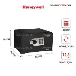 Két sắt Honeywell 5706 nhập khẩu chính hãn