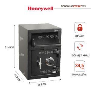Két sắt Honeywell 5911 nhập khẩu chính hãng