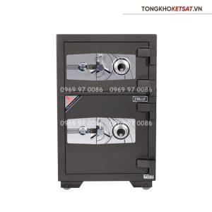 Két sắt Truly siêu cường 2 tầng TSO-0 khóa cơ