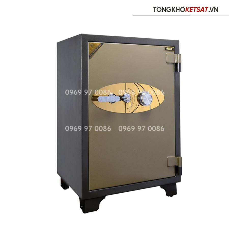 Két sắt Truly gold TLG-105 cỡ lớn khóa cơ Hàn Quốc