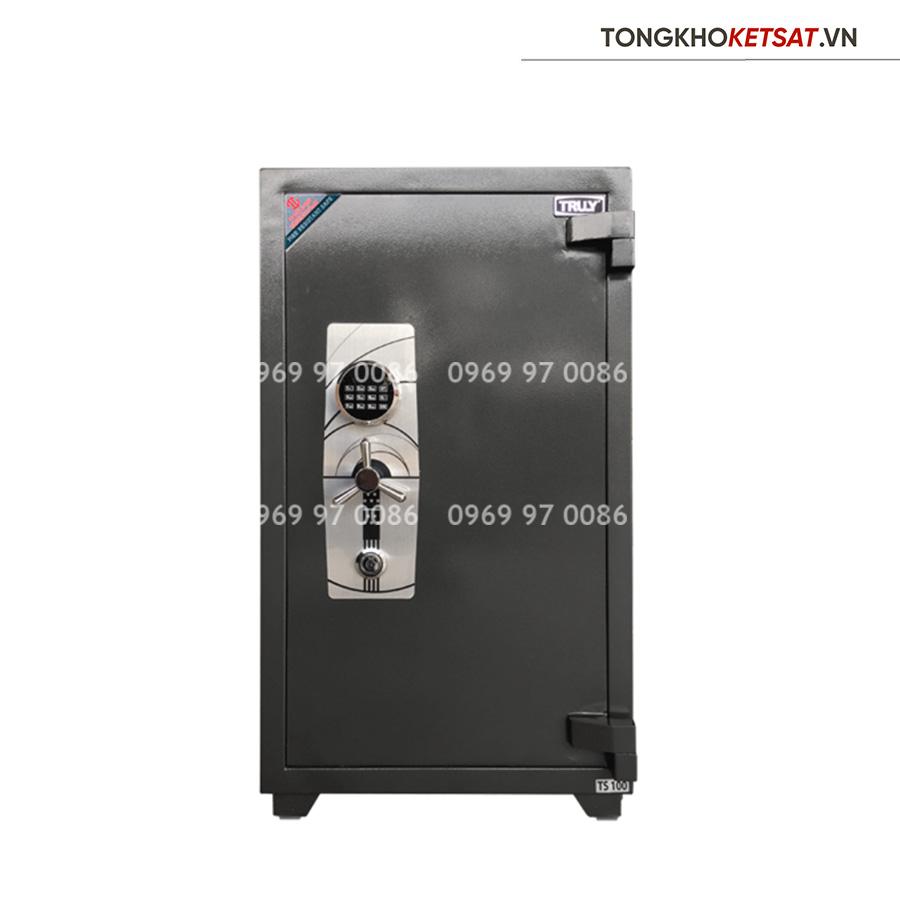 Két Sắt Truly siêu cường TS-100E khóa điện tử chính hãng