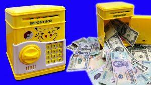 két sắt mini cho bé tiết kiệm tiền